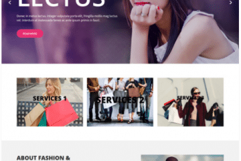 Classy Lite – Fashion Website WordPress Theme for Free