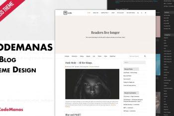 Code Manas – Simple WordPress Theme for Free
