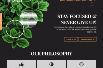 Durvasa – Free Multipurpose WordPress Theme for Business & Portfolio