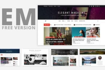 Elegant Magazine – Free News Portal & Magazine WordPress Theme