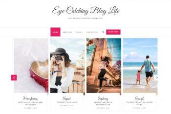 Eye Catching Blog – Minimal Blog Theme for Free