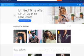Ecommerce Prime – A Free WooCommerce WordPress Theme