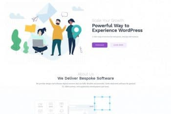 Getwid Base – Free Multipurpose WordPress Gutenberg Theme