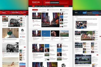 Kreeti Lite – Free Blog & Magazine WordPress Theme