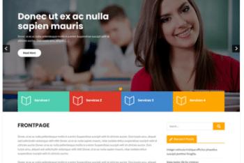 Learning Point Lite – Free eLearning Website WordPress Theme