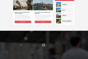 Level – Hotel & Travel Themed Website HTML Template for Free