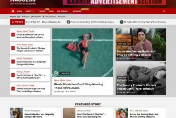 Magcess – Responsive News & Magazine WordPress Theme