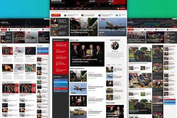 Newsium – Free News & Magazine Website WordPress Theme