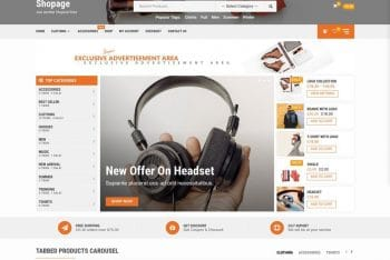 Shopage – Multipurpose eCommerce WordPress Theme