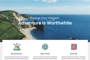 Travelingist – Minimal Travel Blog Theme for Free