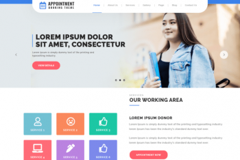 Appointment Booking –  Hospital & Doctor Appointment Booking Website WordPress Theme