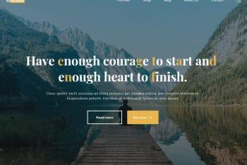 Bravada – Customizable WordPress Theme for Free