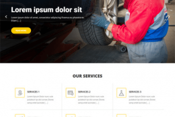 Car Fix Lite – Free Automotive Repair Website WordPress Theme