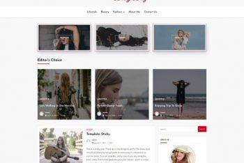 Dashy Blog – WordPress Blog Theme for Free