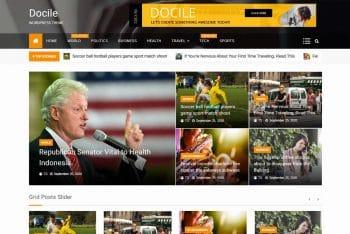 Docile – Free WordPress Magazine Theme