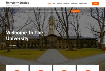 Edufront – Free Education Website WordPress Theme
