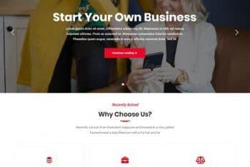 FF Multipurpose – A Free Versatile Business WordPress Theme