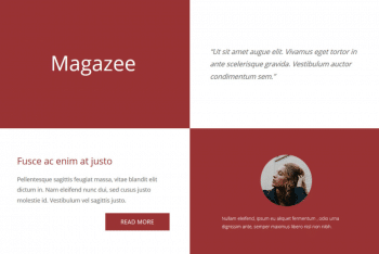 Magazee- Free One-page HTML Template