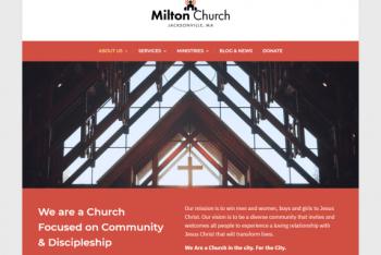 Milton Lite – Responsive WordPress Theme for Free