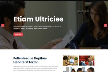 Guten Learn – Education Website WordPress Theme for Free