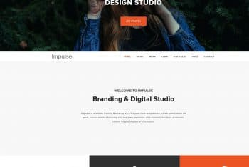 Impulse – Responsive HTML Template with Parallax Effect