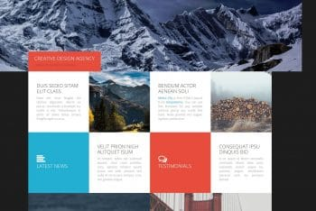 Metro City – A Free Bootstrap HTML Template