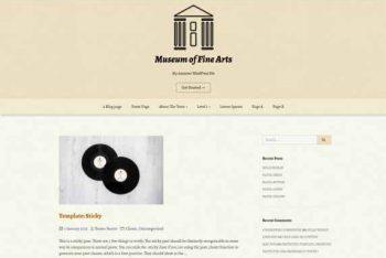 Muzeum – Lightweight WordPress Theme for Free