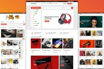 Storeship – Multipurpose Ecommerce WordPress Theme for Free