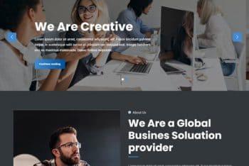 Vip Business Dark – Multipurpose WordPress Theme for Free
