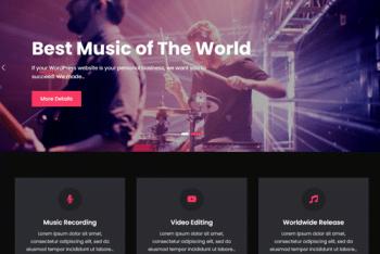JetBlack Music – Multipurpose WordPress Theme for Free