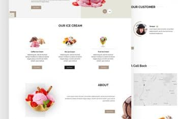 Joice – Free Ice Cream Shop HTML Template