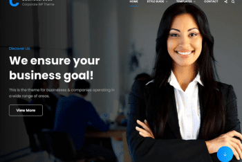 BusinessFocus – A Free Business Website WordPress Theme