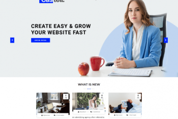 Castell – Free Business Website WordPress Theme