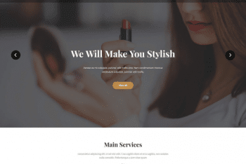 Change – Flexible Salon Website WordPress Theme for Free