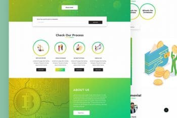 Cypo – Bitcoin Website HTML Template for Free