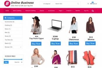 Retail Shop – Free Ecommerce Website WordPress Theme