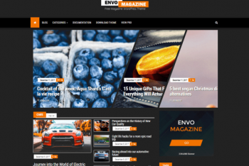 Envo Magazine Dark – A Modern-looking Magazine WordPress Theme