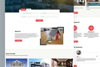 Estee – A Free Real Estate Website HTML Template