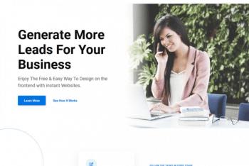 Everse – Free Elementor WordPress Theme