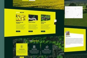 Farmfield – A Free Farming HTML Template