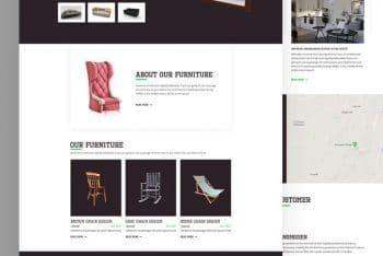 Furnio – A Free Furniture Business HTML Website Template