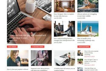 Greatnews – Multipurpose WordPress Theme for Free