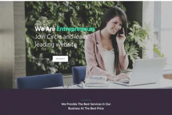 Kata Business – Free Advanced WordPress Theme