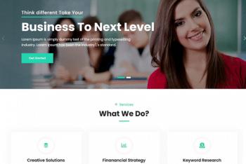 Lit – Business WordPress Theme for Free