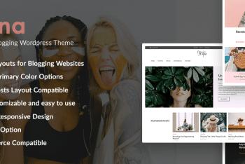Matina – Free Creative WordPress Blog Theme