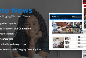 Matina News – Creative WordPress Theme for Free