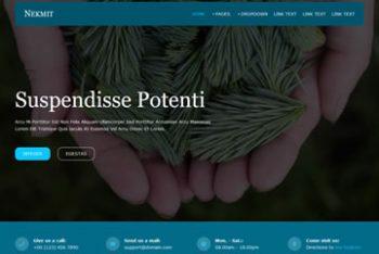 Nekmit – A Free Responsive HTML Template
