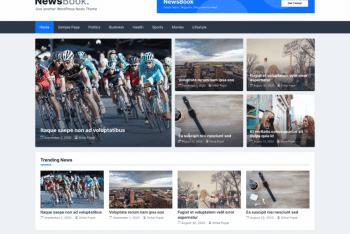 NewsBook – Free News Website WordPress Theme