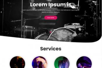 Night Club Lite – Free Music Streaming WordPress Theme