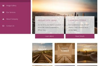 Pipeline – A Free Bootstrap Template